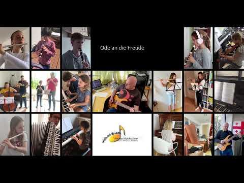 Freude schöner Götterfunken Online Orchester der Musikschule Musik-erLeben