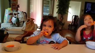 Busy eating cheetos