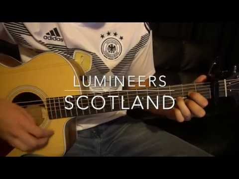 Scotland // The Lumineers // Easy Guitar Lesson (W/Tabs!)