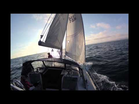 Sailing Race  Sunset Series 8.1.12 no sound