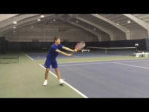 Jayson LaGrou Petoskey High School Tennis Recruiting Video - Fall 2020