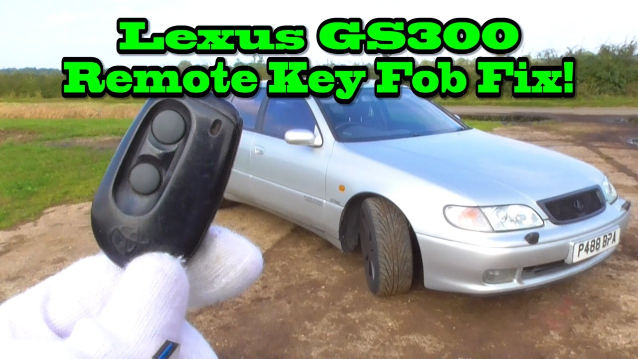 2003 lexus gs300 key fob programming