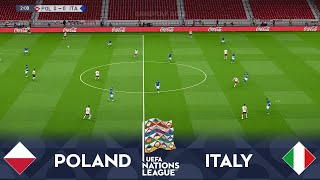 POLAND vs ITALY UEFA Nations League 2020 Live Games