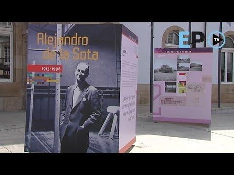 La exposición Alejandro de la Sota, en la calle San Marcos