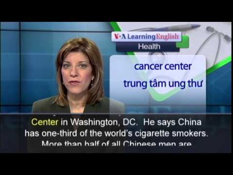 Phát âm chuẩn cùng VOA - Anh ngữ đặc biệt: China Smoking (VOA-Health Rep)