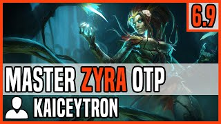 Patch 6.9 Zyra Mid OTP  - Matchup: Vel