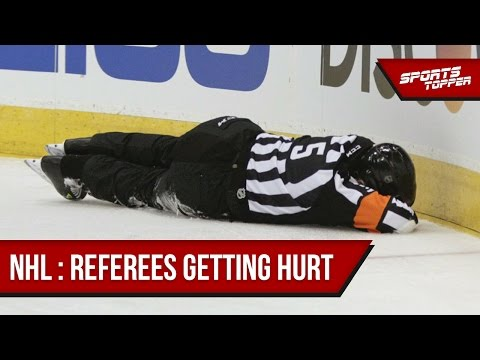 NHL : Injured Referees | SportsTopper