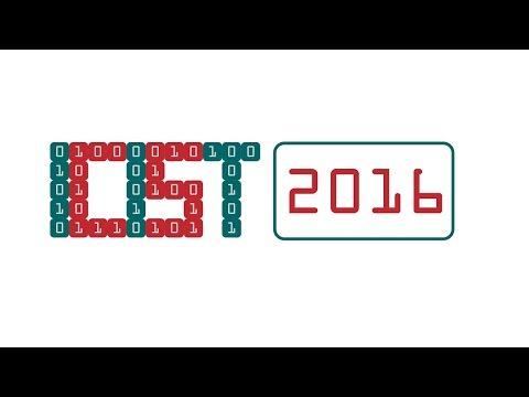 ICIST 2016. 2nd day. Conference Hall RATNYČĖLĖ