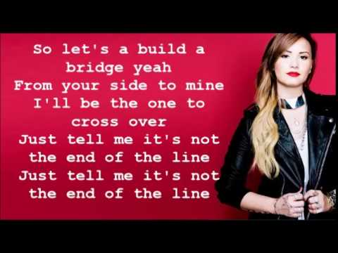 Up Olly Murs And Demi Lovato Lyric Video
