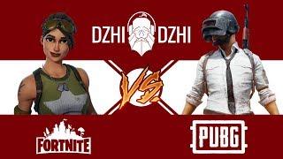 Fortnite Battle Royale vs PlayerUnknown's Battlegrounds   КV#3