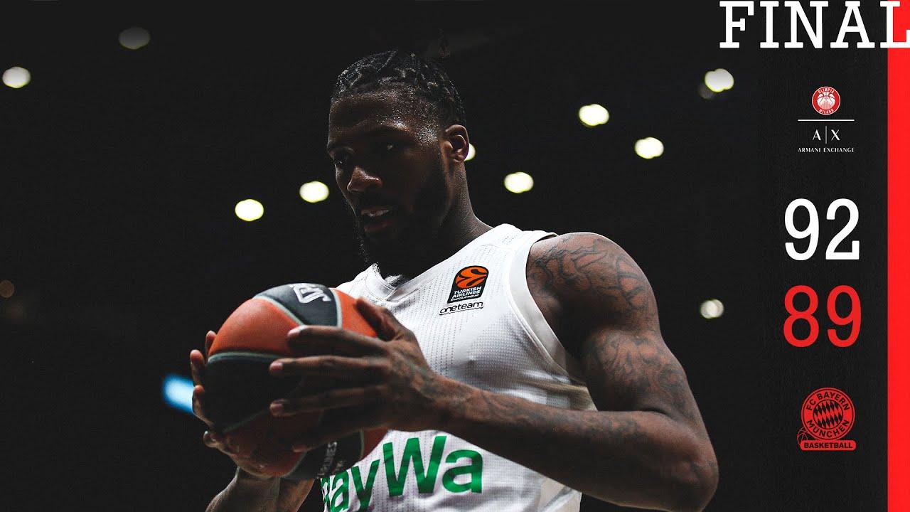 Highlights | Olimpia Mailand vs. FC Bayern Basketball 92:89 | EuroLeague Viertelfinale Spiel 5