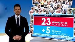 Ziehung der Lottozahlen vom 27.05.2020