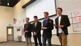 Perfect- Barbershop Quartet Cover; Will You Go To Prom With Me?