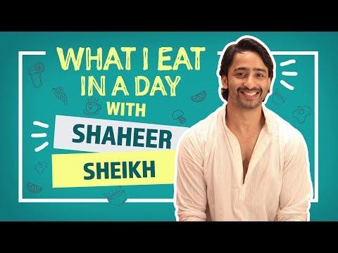 Shaheer Sheikh : What I Eat In A Day | Kuch Rang Pyar Ke Aise Bhi | Pinkvilla | Television
