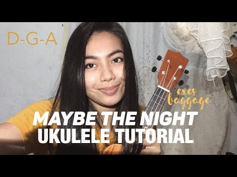 Maybe the night EASY UKULELE TUTORIAL - Ben&Ben