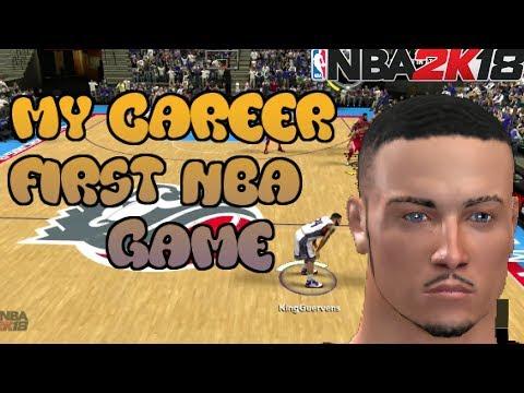 NBA 2K18 XBOX 360/PS3 LAST GEN | MyCAREER Ep. 1 | 1ST NBA GAME!