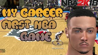 NBA 2K18 XBOX 360/PS3 LAST GEN | MyCAREER Ep. 1 | 1ST NBA GAME!