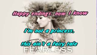 WHITE HORSE{Studio Version} [Karaoke   Instrumental].flv