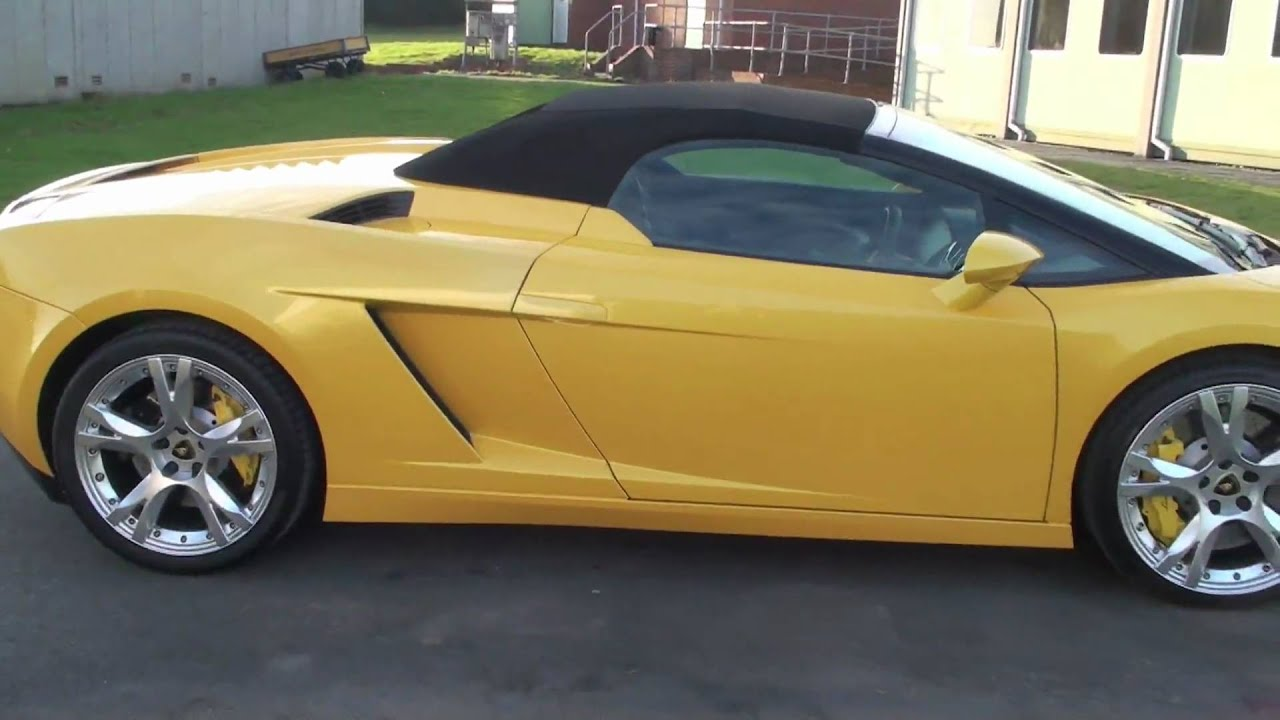Miracle Detail Lamborghini Gallardo Spyder In Yellow Youtube