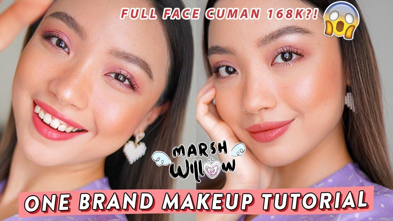 MARSHWILLOW one brand makeup tutorial, FULL FACE 168?! Murah tapi bagus gak ya??