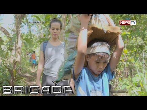 Brigada: Bata sa Rizal, umaakyat ng bundok para mangalakal ng saging