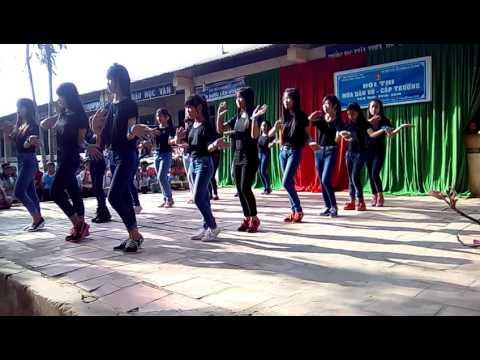 Múa dân vũ: Năm con vịt - 8a4 - thcs khánh hòa