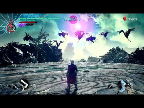 Devil May Cry 5 - Bloody Palace Dante 0 - 25 (Portal Glitch?) thumbnail
