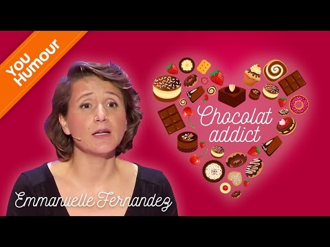 EMMANUELLE FERNANDEZ chez les chocolats anonymes