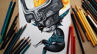 Repeat youtube video Drawing Midna from the Legend of Zelda (Twilight Princess)