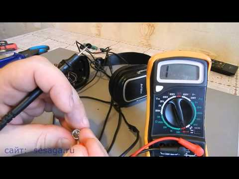 Как проверить микрофон тестером