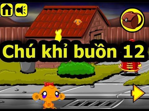 Chú khỉ buồn 12, Chơi game chú khỉ buồn online tại Gamehay24h.vn