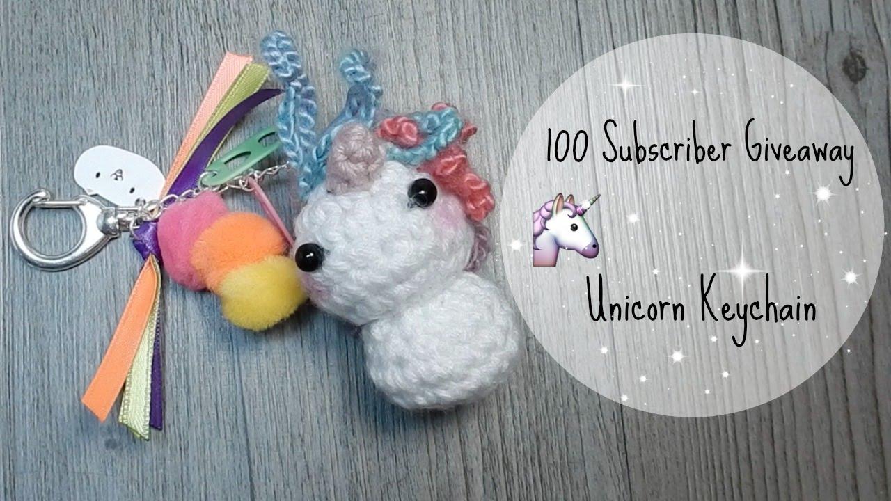 Amigurumi Unicorn Keychain Crochet Free Patterns - Crochet & Knitting | 720x1280