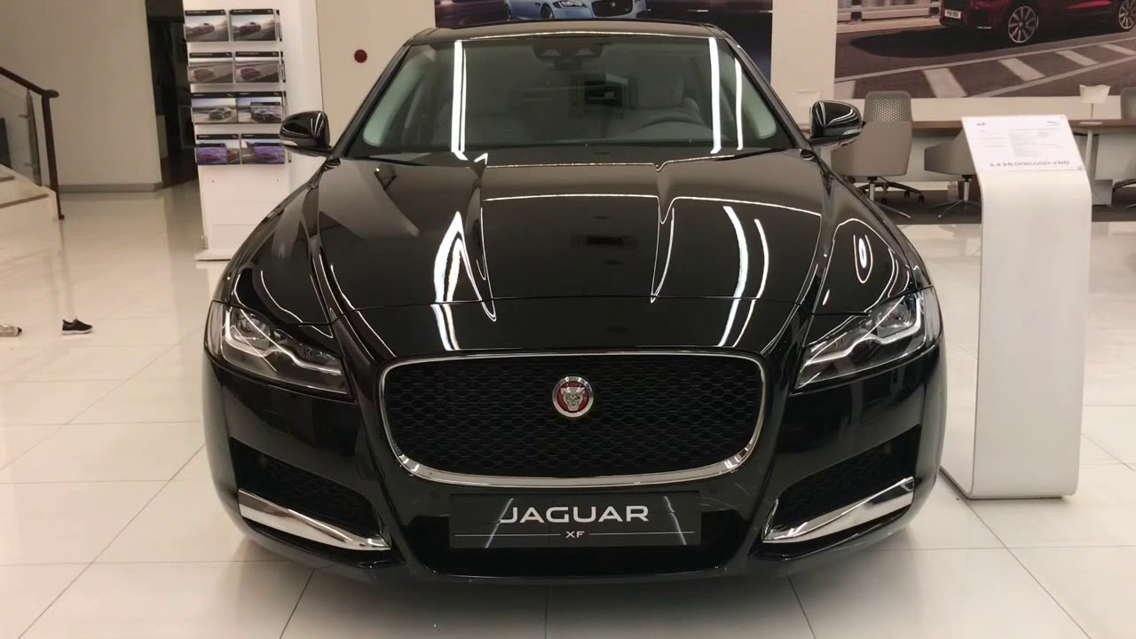2019 Jaguar Xf Black Color Youtube