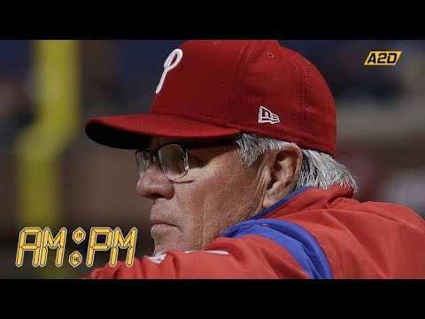 """Phillies Fire Manager Pete Mackanin 