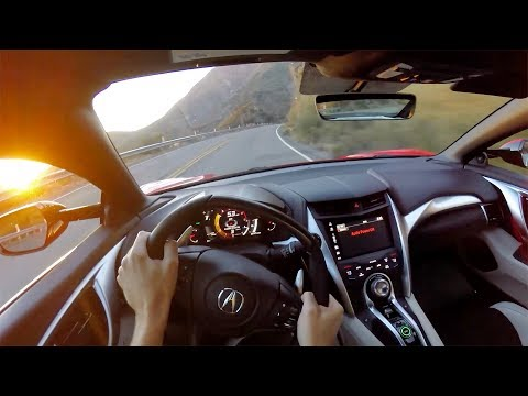 2017 Acura NSX - POV Canyon Drive (Binaural Audio)