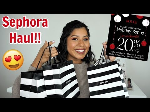 Sephora VIB Sale Haul | Fall 2018
