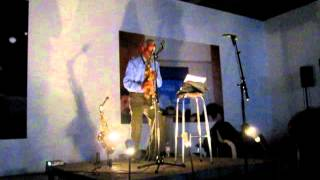 Roscoe Mitchell solo saxophone, live at KRAAKfestival, Belgium, 2012-03-03 [part2/5]