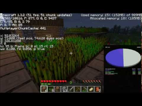 How To Find Out Your Seed in Minecraft 1.3! (No Programs)