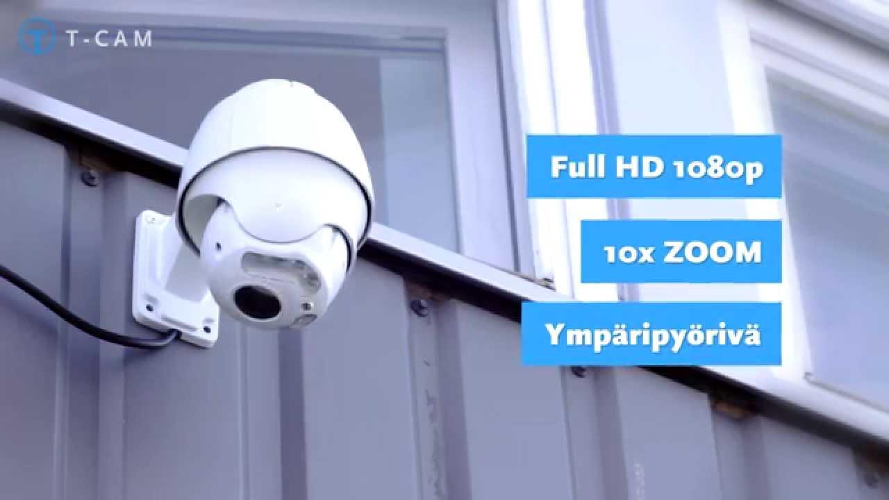 T-Cam IPC PRO 9100 PTZ valvontakamera esittelyvideo