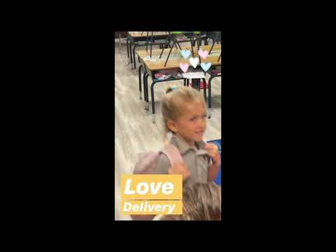 Spontaneous Halos: Love Delivery - San Clemente Christian School [Random Acts of Kindness]