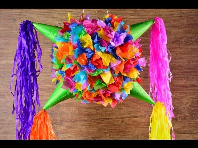 La Tradición De Las Piñatas Navideñas En México