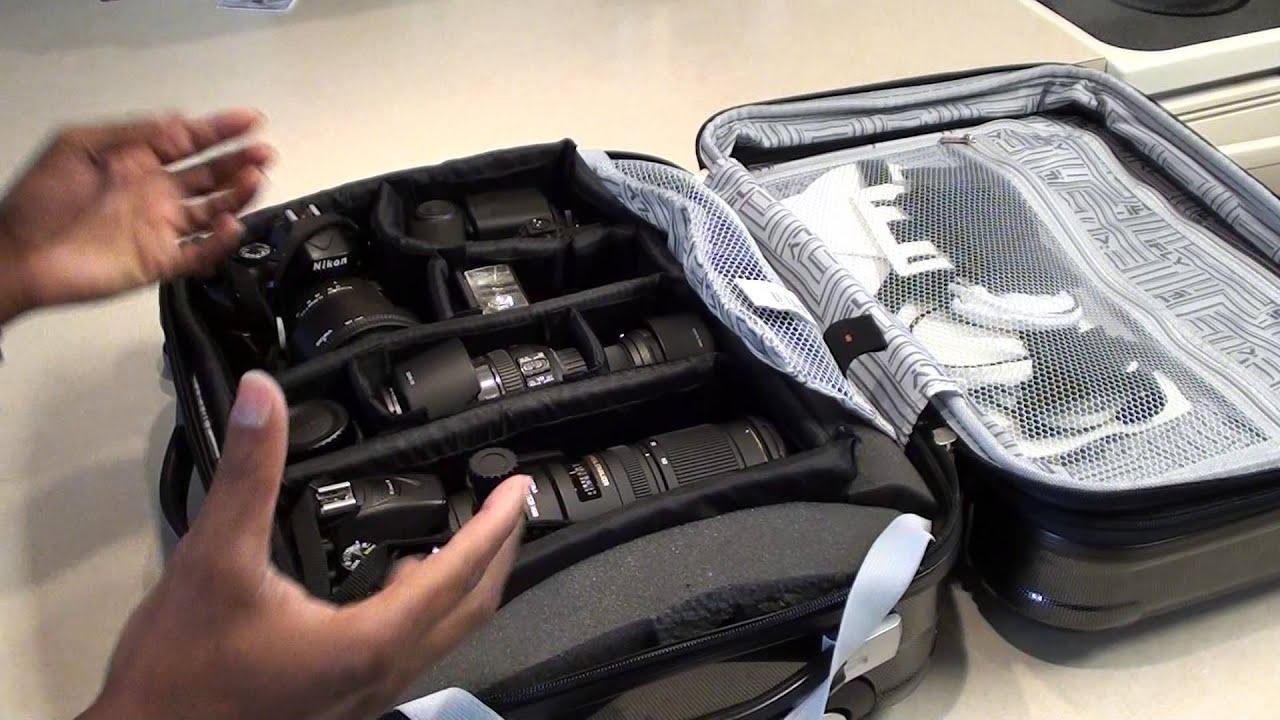 DIY SLR Camera Roller Bag Case - YouTube