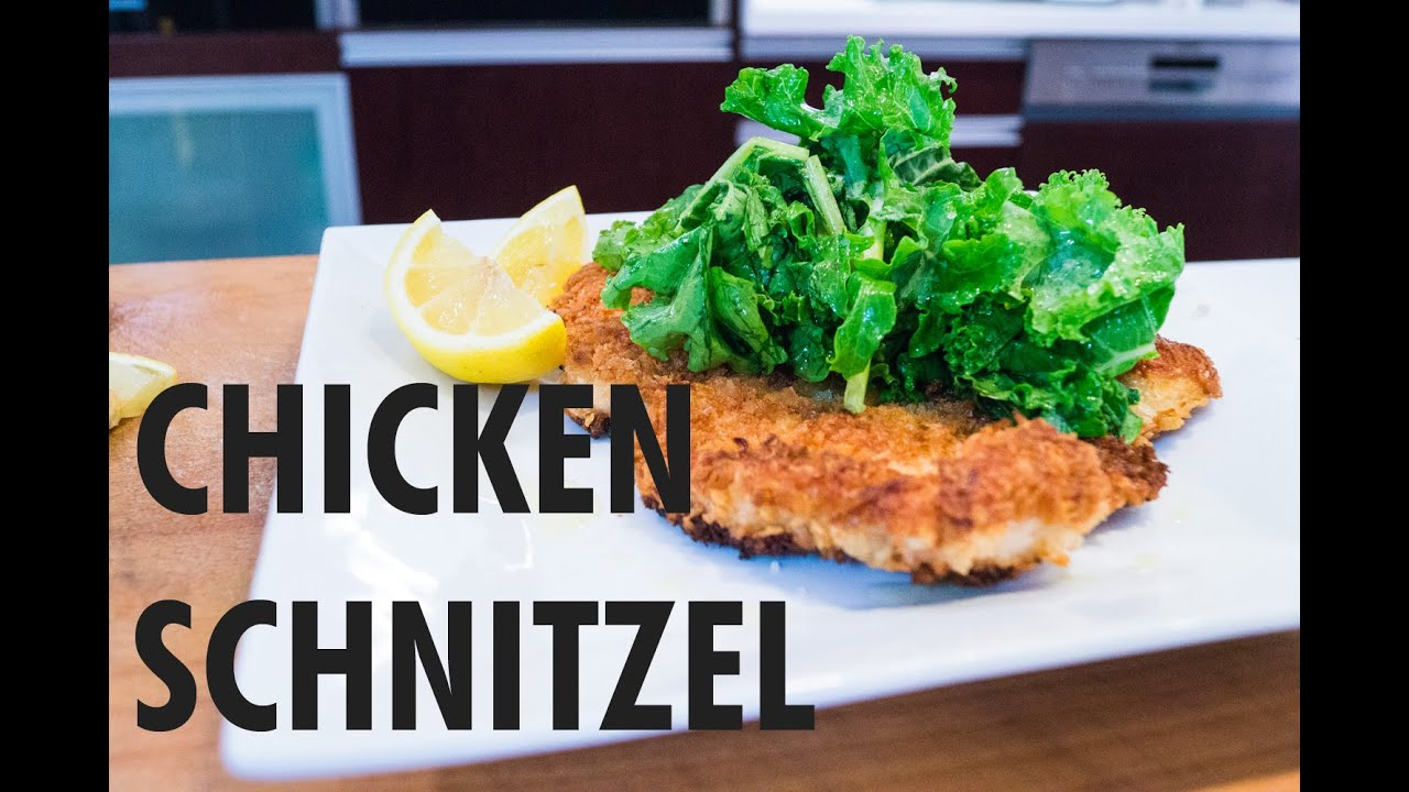 how to make schnitzel youtube