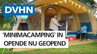 Minimacamping Opende groot succes