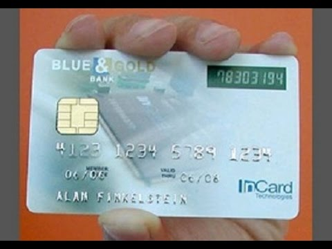 My credit card number - YouTube