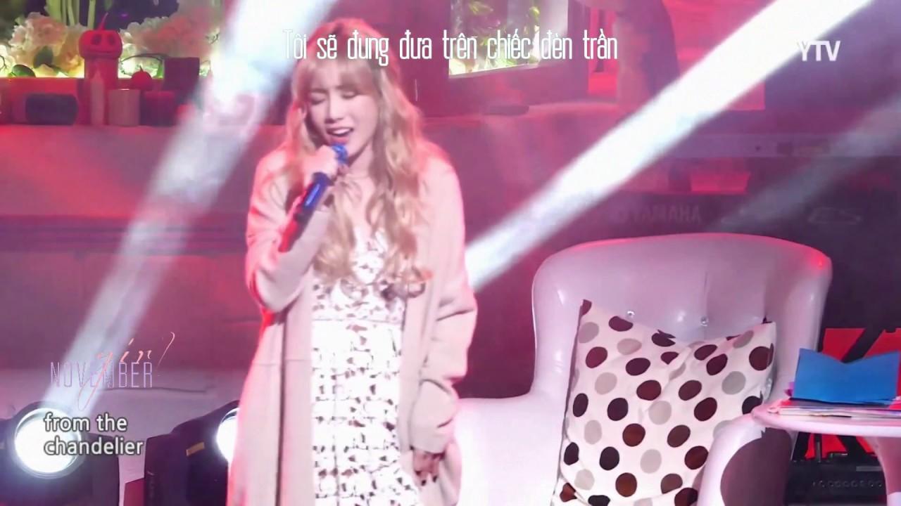 Vietsub] Chandelier (Sia) - TAEYEON (태연) - YouTube