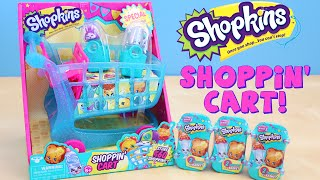 Shopkins Shoppin' Cart Special Edition Glitter Season 3 Blind Baskets
