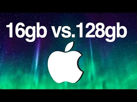 ¿Con cuantos GB de almacenamiento debo elegir ?8gb 16gb 32gb 64gb 128gb iPhone iPad ipod