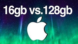 ¿Con cuantos GB de almacenamiento debo elegir ?8gb 16gb 32gb 64gb 128gb iPhone iPad ipod(, 2015-07-07T05:50:39.000Z)