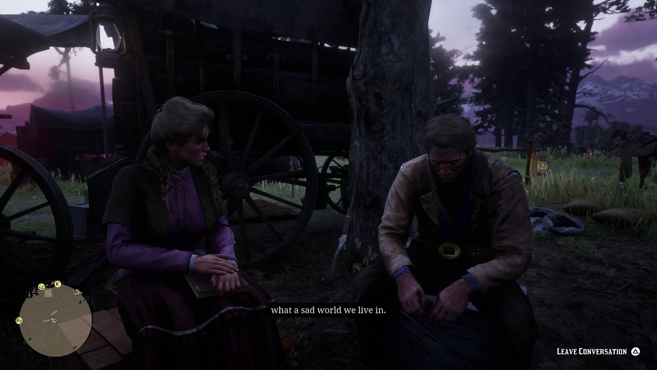 Red Dead Redemption 2 - Horseshoe Overlook Camp: Mary-Beth Gaskill (Accept  Conversation) (2018)